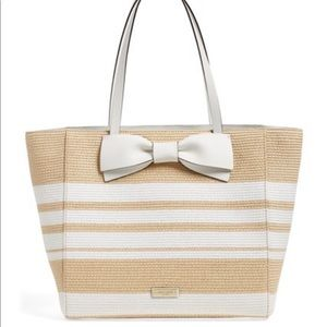 Kate Spade Straw Clement Street Blair Tote